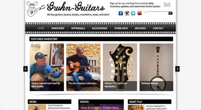 Online Guitar Store Finder (Used / Vintage) | Electric Herald