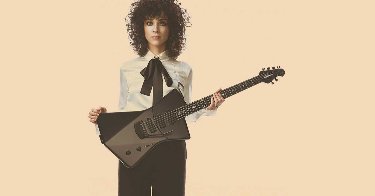 The Music Man St. Vincent Guitar (is not just for women)