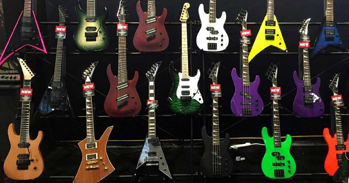 Jackson Releases 6 New Guitar Models