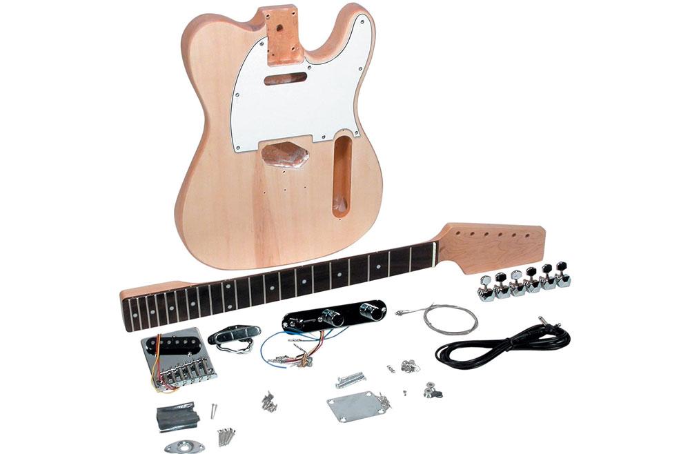 DIY Fender Telecaster Guitar Kit made by Saga