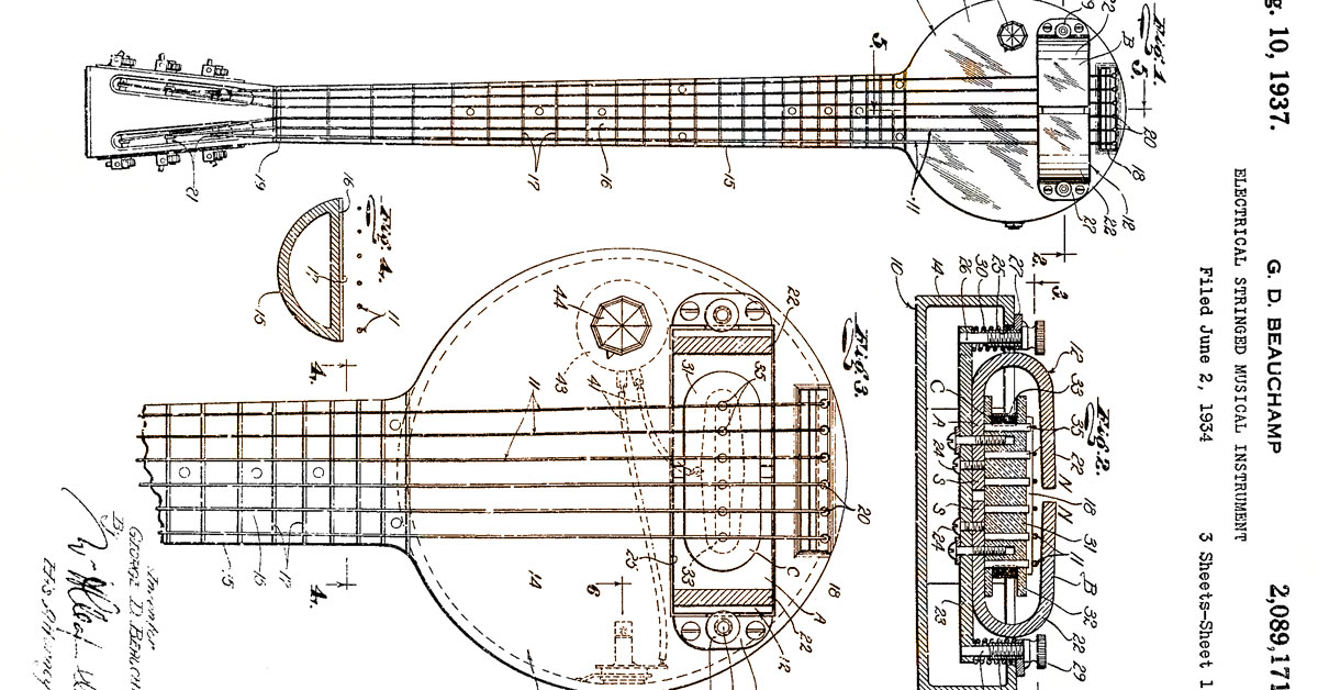 History: The First Electric Guitar