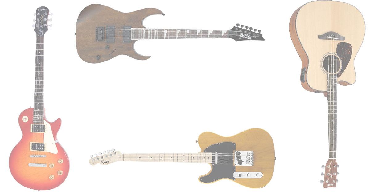 The Best Starter Guitars Under $300
