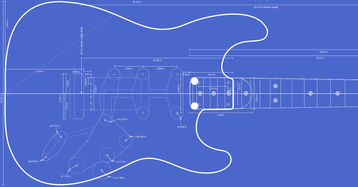 fender stratocaster guitar templates electric herald. Black Bedroom Furniture Sets. Home Design Ideas