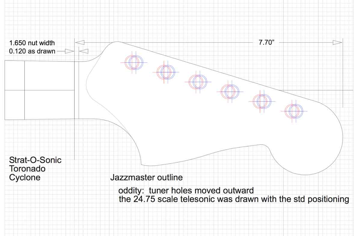 Jazzmaster Wiring Diagrams Guitar Restoration Building Lutherie