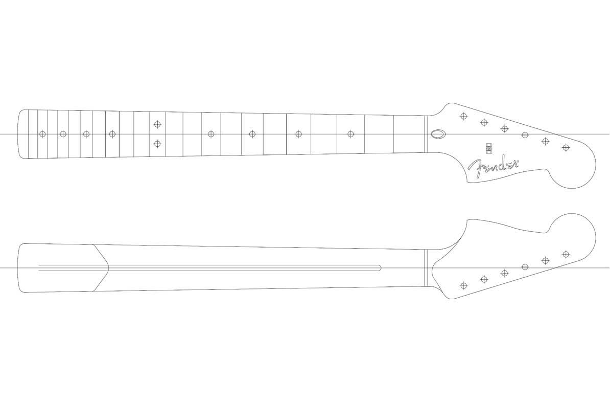 Fender toronado guitar templates electric herald for Electric guitar body templates