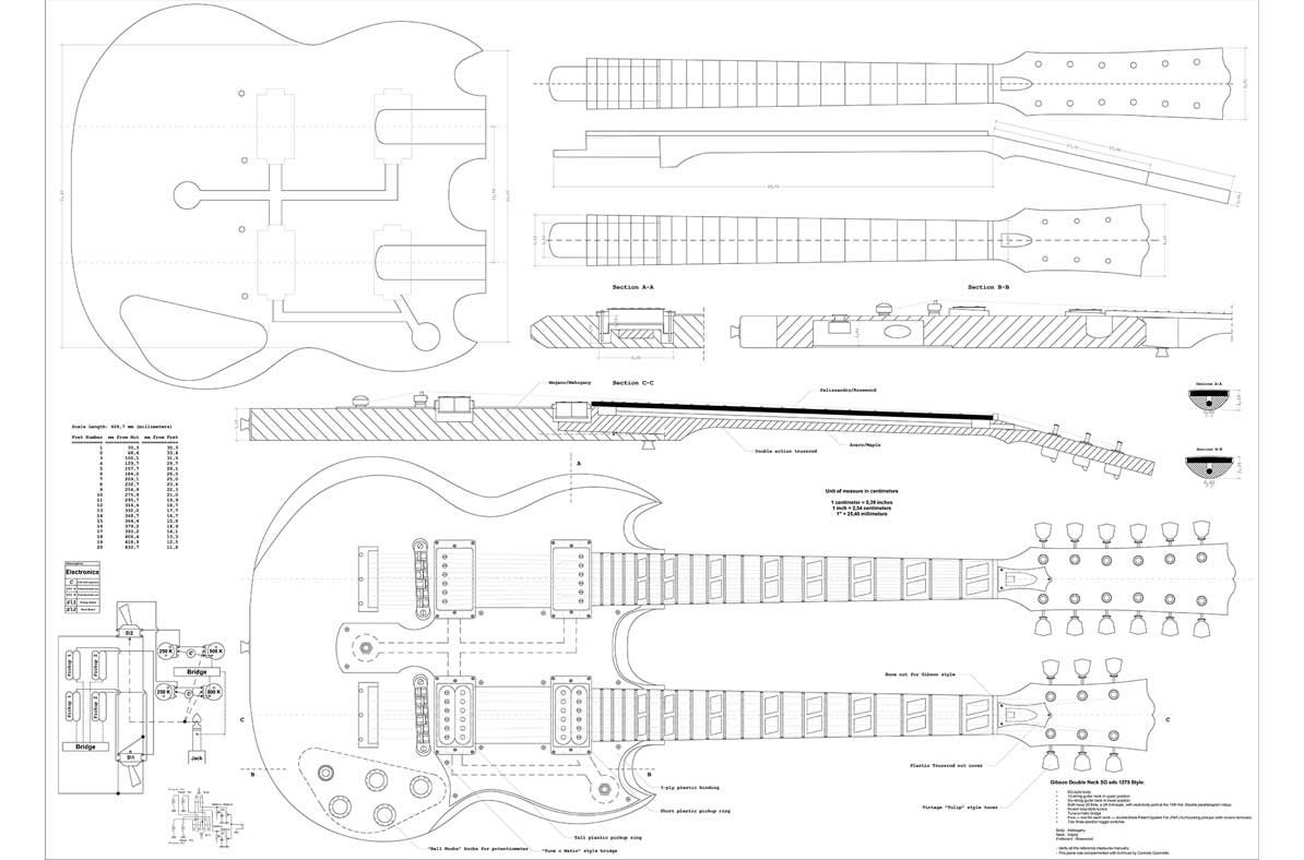 Install Gibson Double Neck Guitar Wiring Diagram Mauriciolemus Electric Blueprints Free Download U2022 Playapk Co Jazz Bass Eds 1275