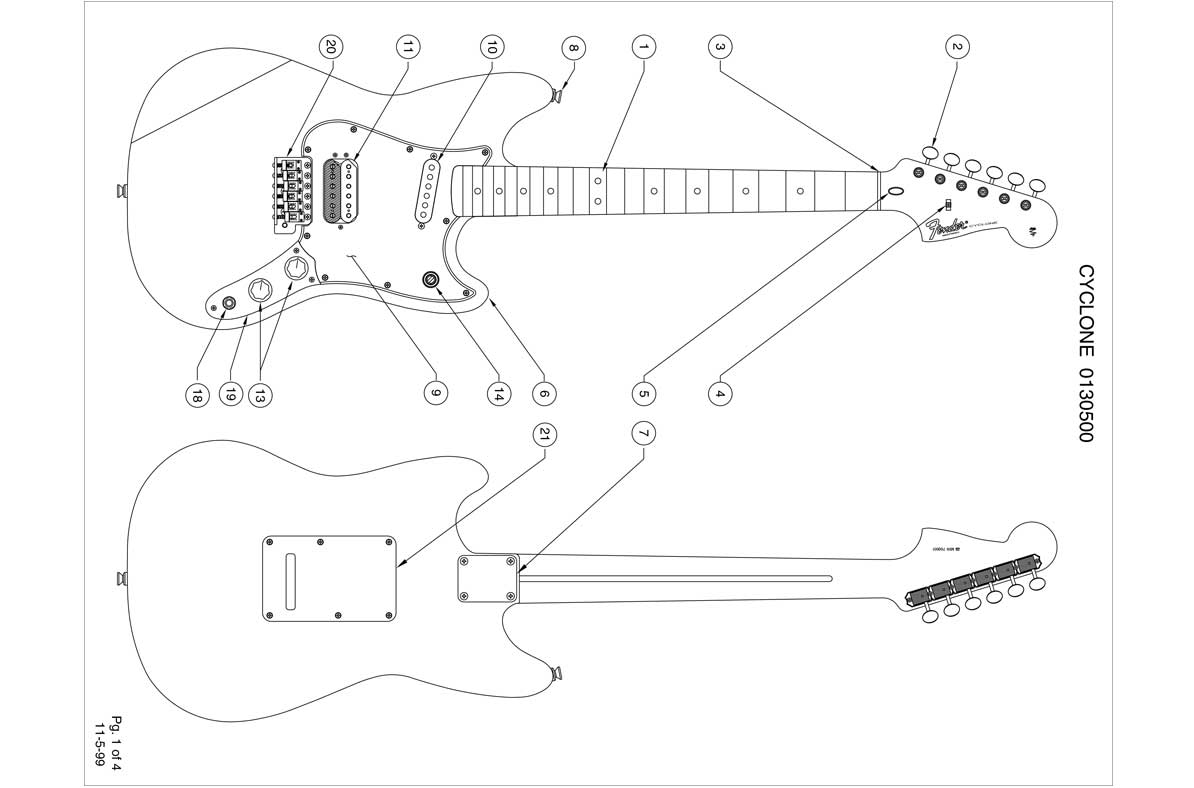 Fender Cyclone Ii Wiring Diagram Electrical Mustang Guitar Templates Electric Herald Rh Electricherald Com Toronado