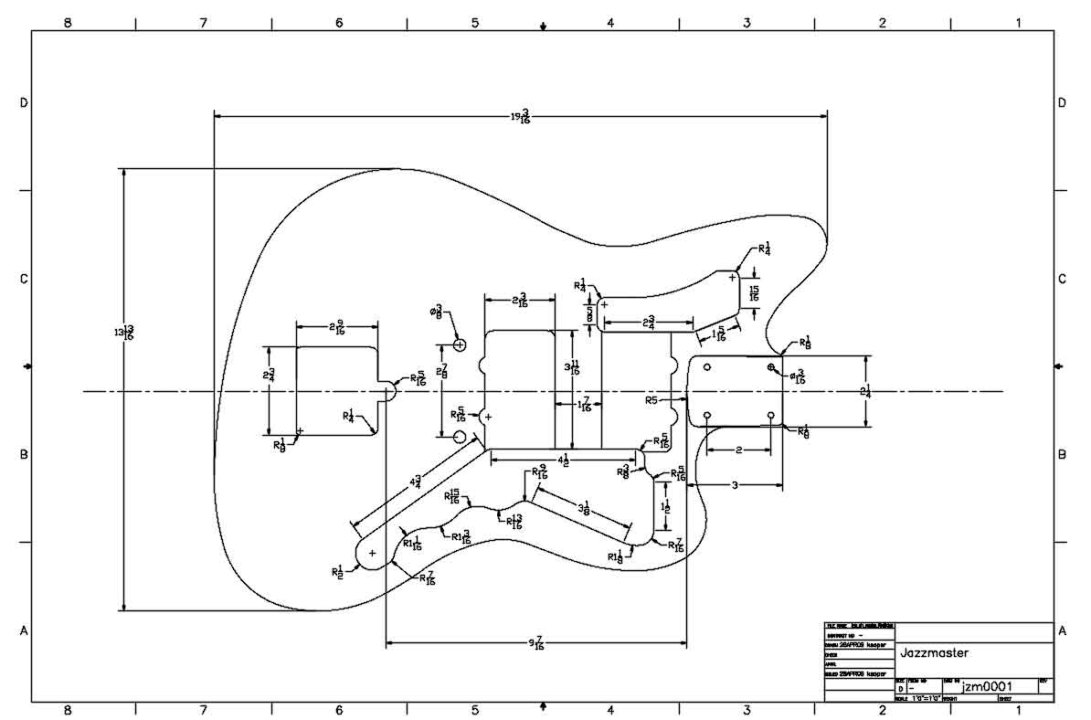 Fender 1962 Jazzmaster Wiring Diagram Guitardudeproducts Schematic The Portal And Forum Of Guitar Templates Electric Herald Rh Electricherald Com Bassman Ultralight