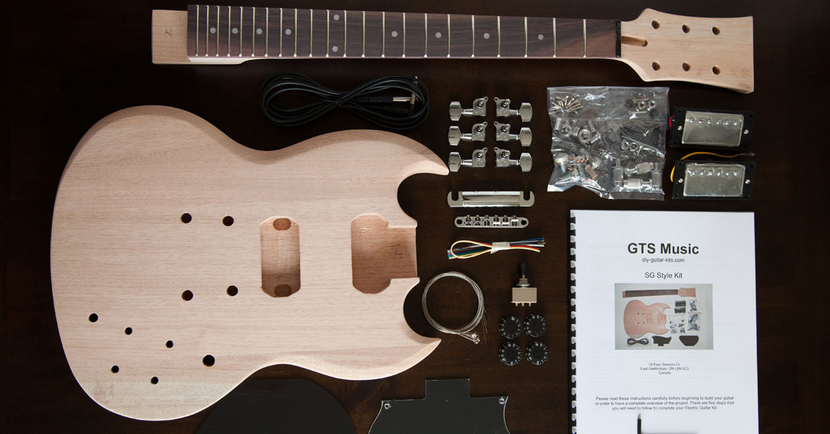 Best DIY Guitar Kits - Site Reviews [2020]