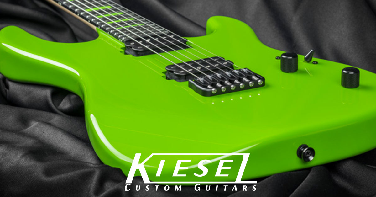 JB100 - The Latest Jason Becker Model from Kiesel
