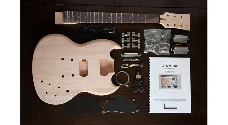 guitar kits reviews on the best diy kit vendors electric herald. Black Bedroom Furniture Sets. Home Design Ideas
