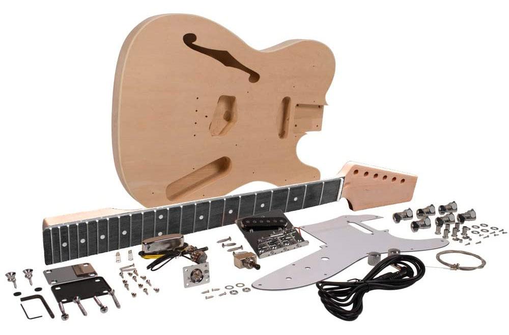 Thinline Telecaster Guitar Building Kit