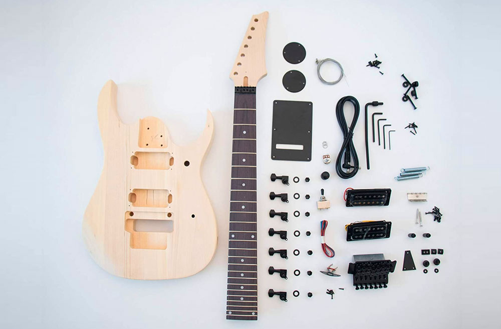 Blank Body Guitar Kit - Carve Your Own Body