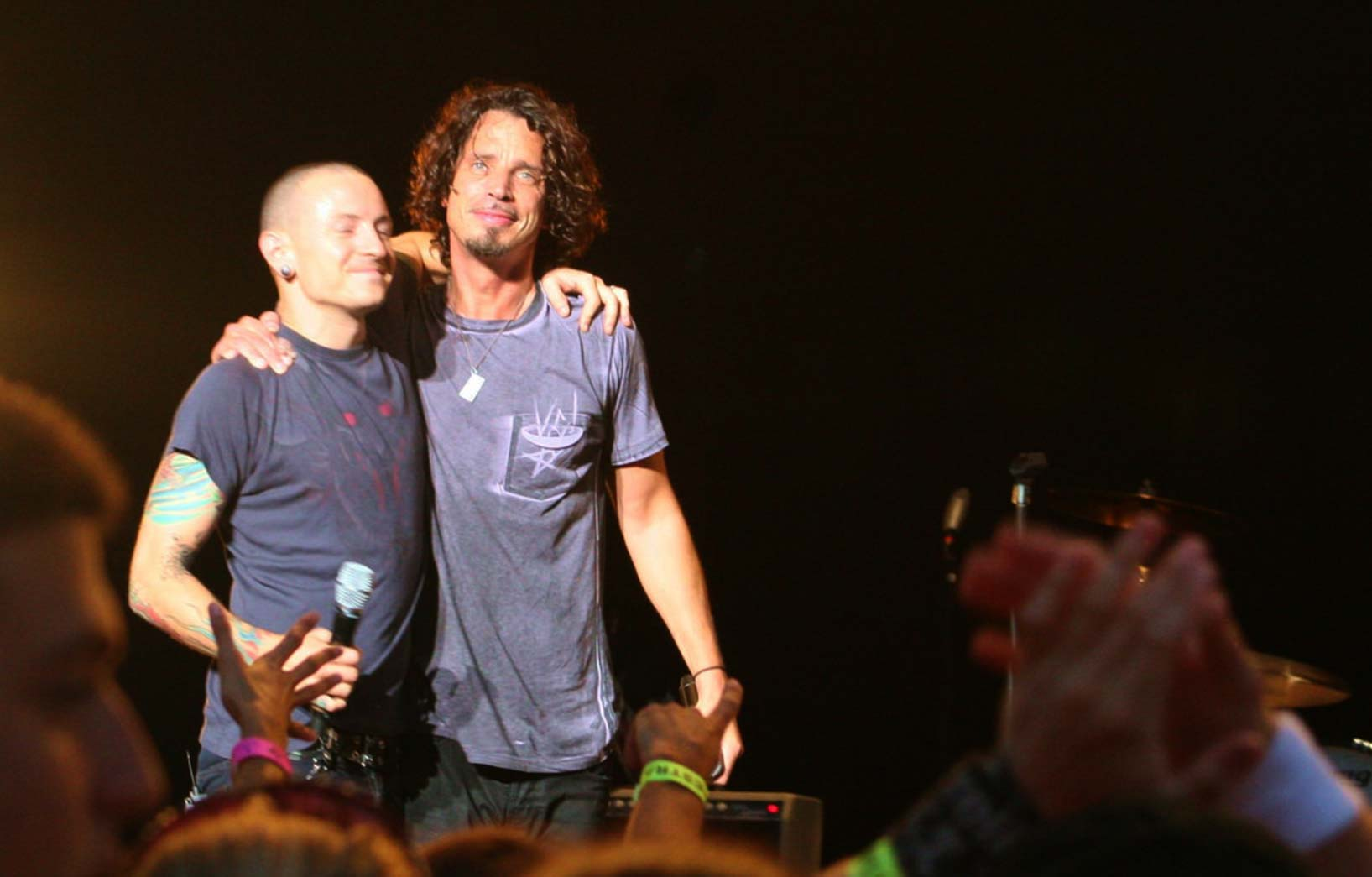 Chester Bennington and Chris Cornell