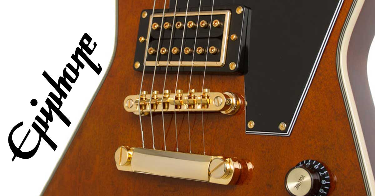 New from Epiphone: Lee Malia Explorer Custom