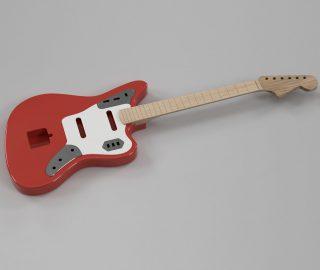 CAD Guitar Model – Fender Jaguar