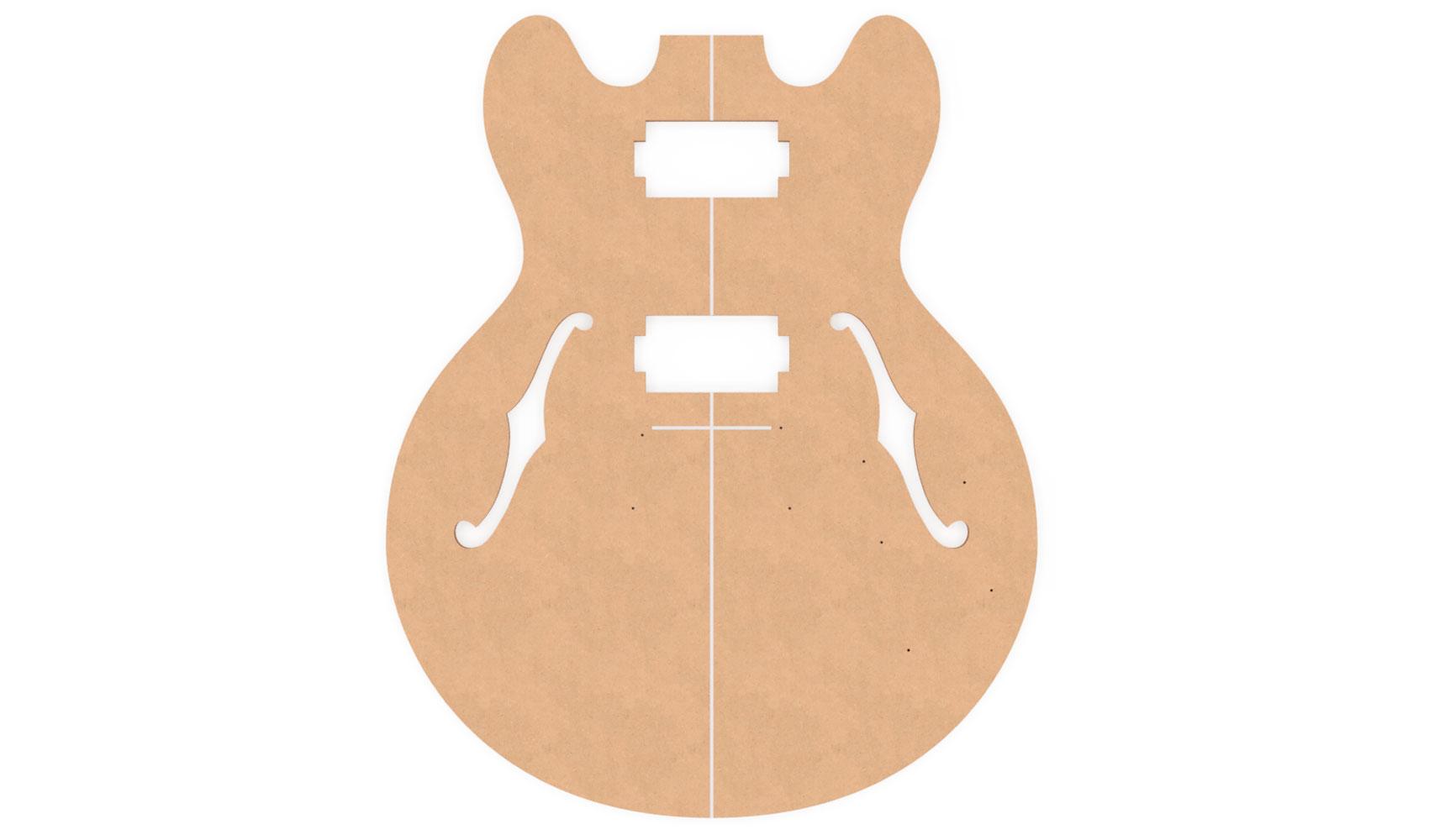 Gibson ES-339 Router Templates