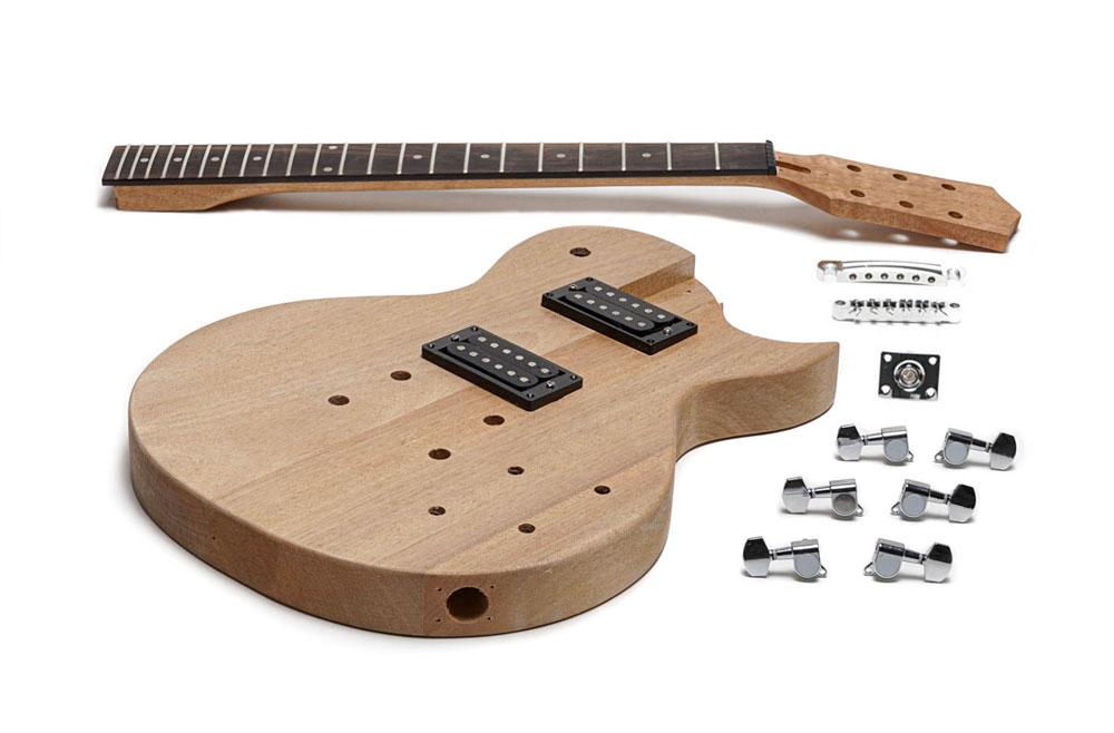 DIY Gibson Les Paul Jr Guitar Kit