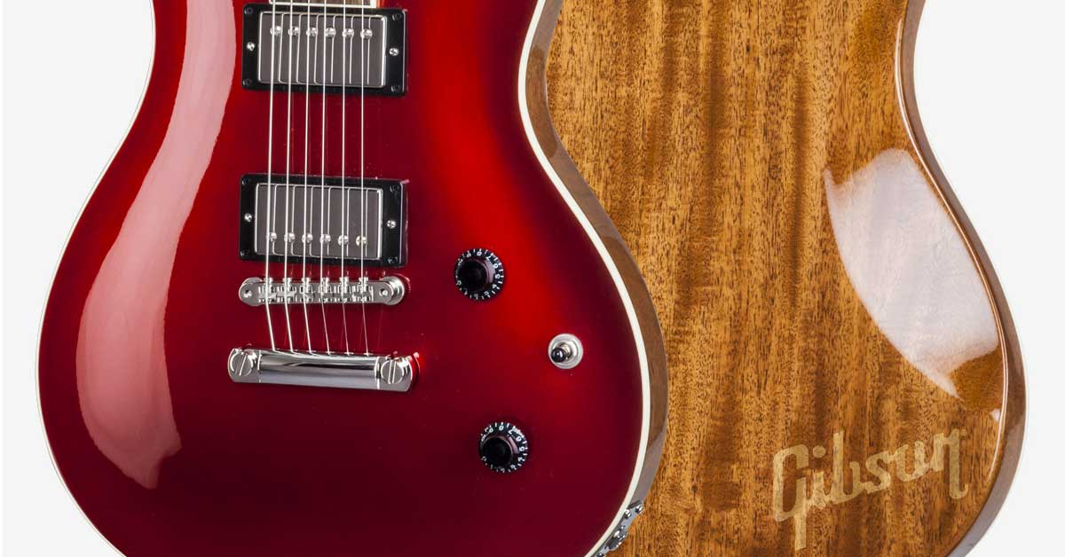 New Gibson Model: Modern Double Cut Standard