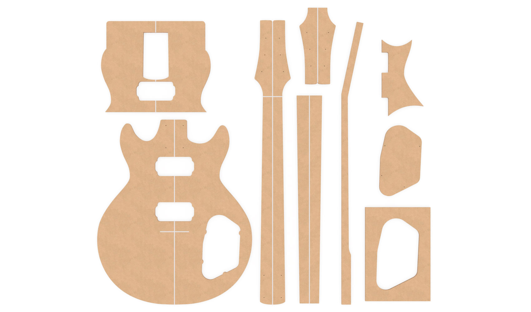 Router Templates | Ibanez Ax Series Gax30 Router Templates Electric Herald