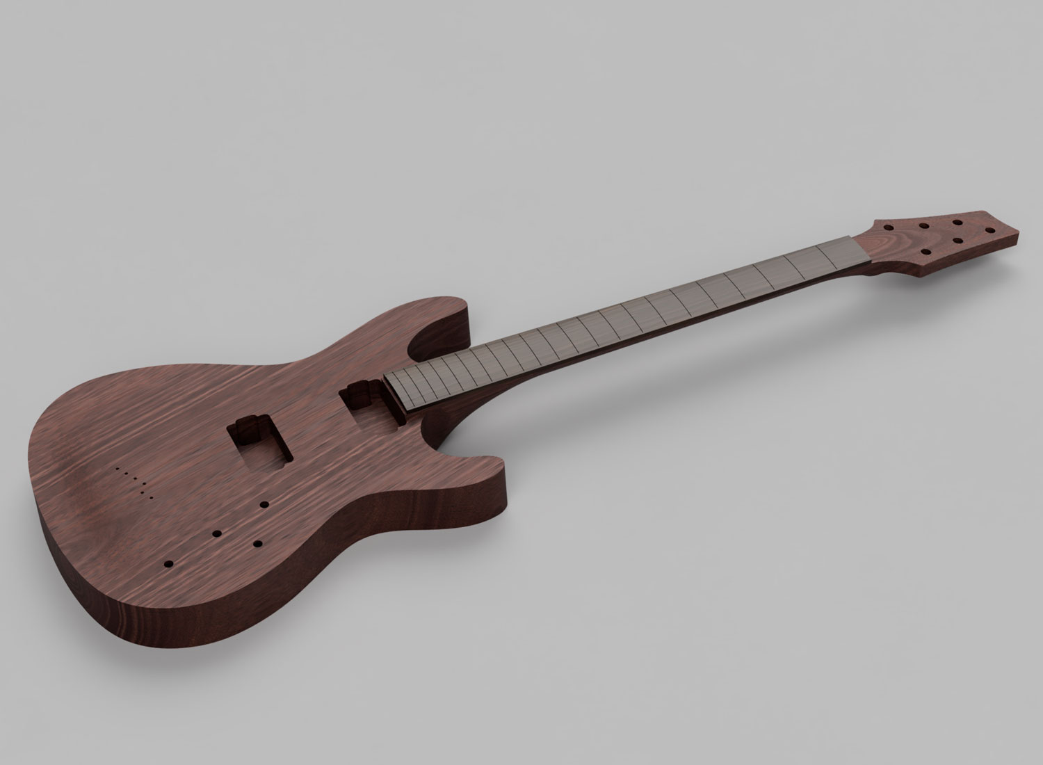 3D Guitar Model - Ibanez SZ320