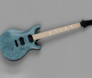 CAD Guitar Model – PRS Custom 24