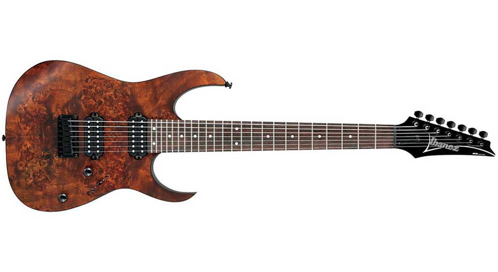 The Ibanez RG7421 7-String Model Guitar