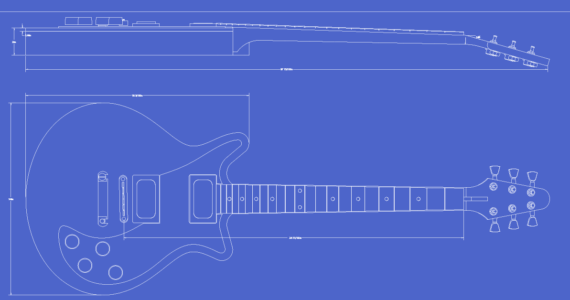 photo about Printable Guitar Templates named Guitar Templates Archive Electrical Herald
