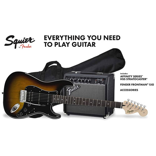 Squier Stratocaster Affinity Starter Pack