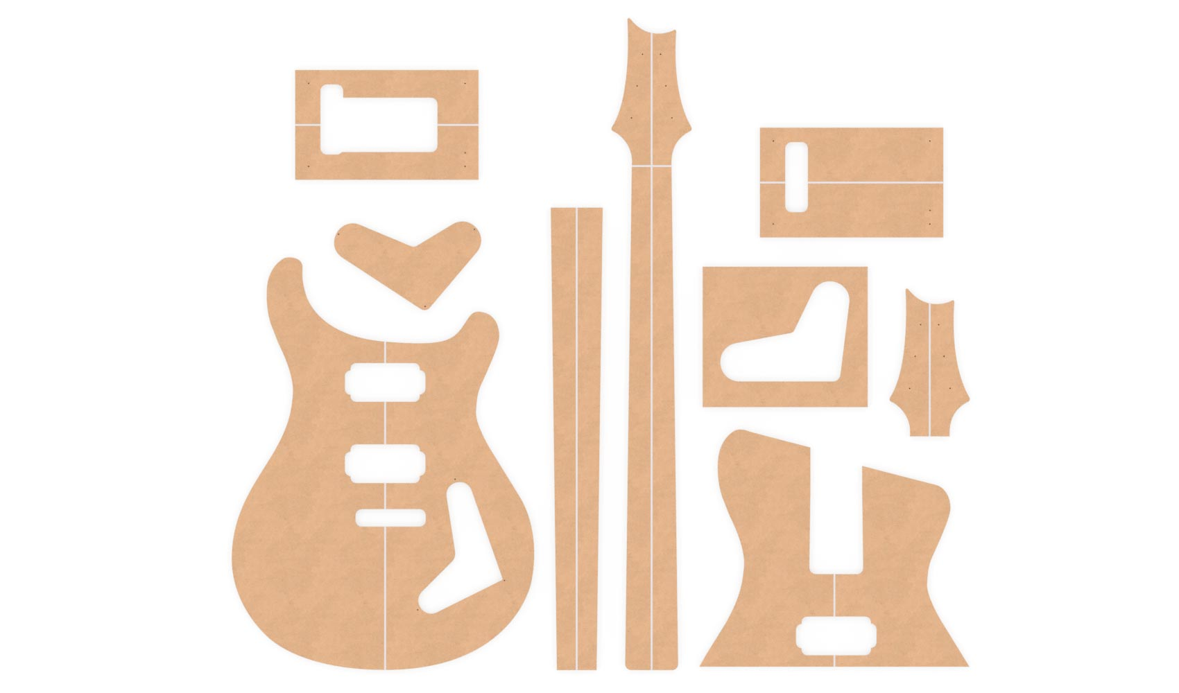 Prs Custom 24 Router Templates