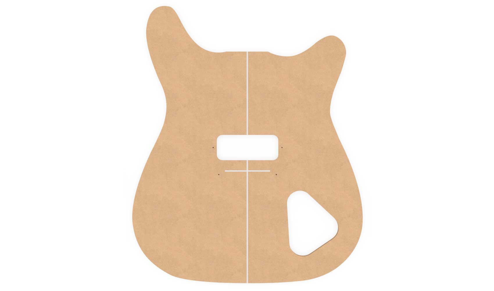 Epiphone Coronet Router Templates   Electric Herald