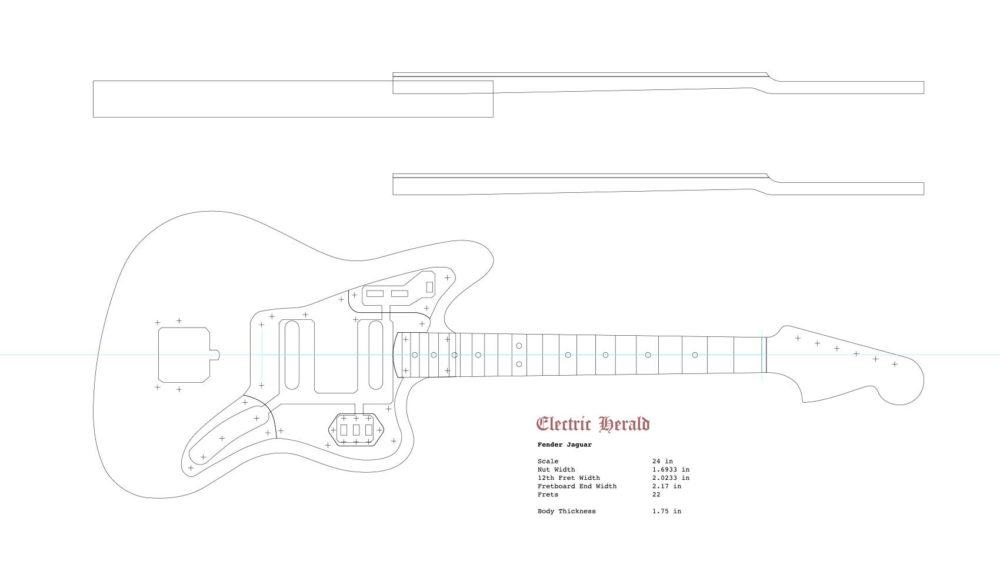 Pretty Bender Fender Template Photos >> Telecaster Guitar Router ...