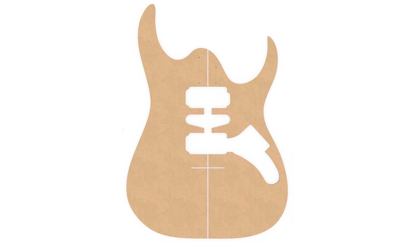 Ibanez RG Series Router Templates | Electric Herald