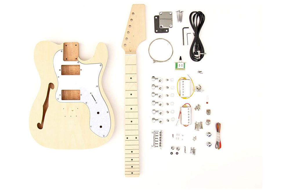 Thinline Telecaster Guitar Building Kit