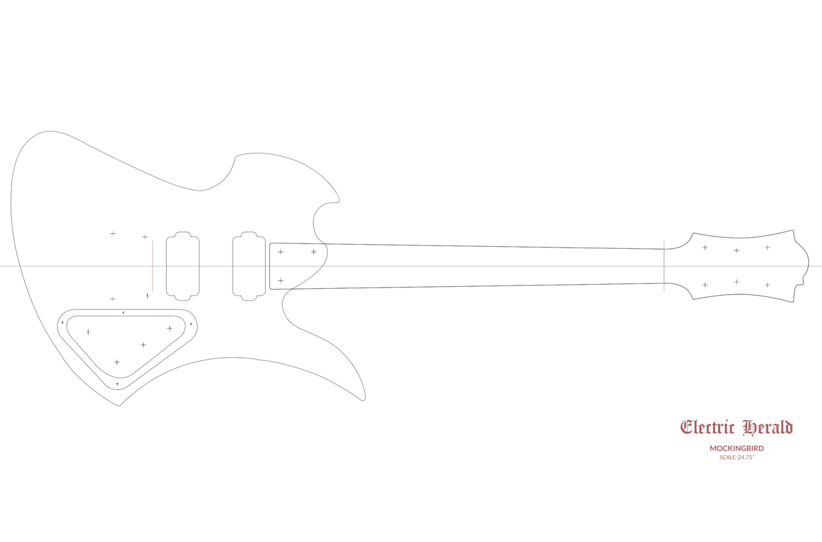 bc rich mockingbird templates electric herald