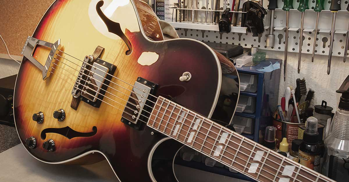 Five of the Best Jazz Guitars
