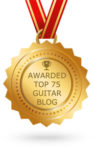 Feedspot Best Guitar Blog Award