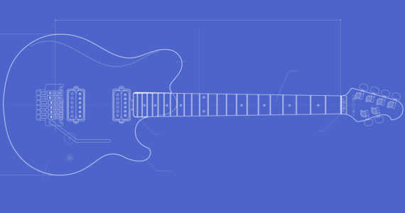 guitar templates archive